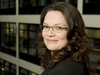 Generalsekretärin Andrea Nahles