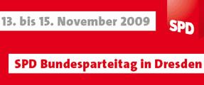 Banner Bundesparteitag 2009