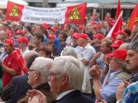 Demo der Hay-Mitarbeiter auf dem Kornmarkt